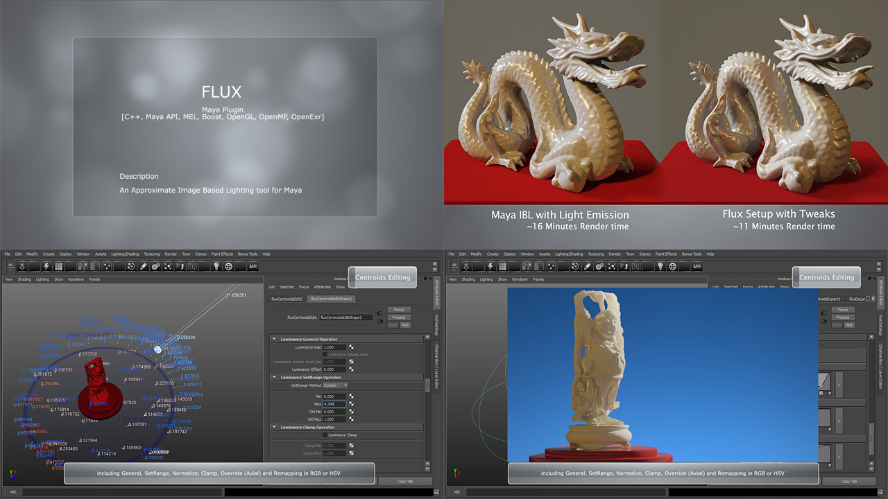 CGTalk | Flux - New lighting tool for Maya