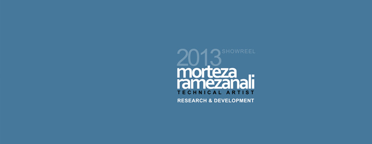 Showreel 2013 - Research & Development